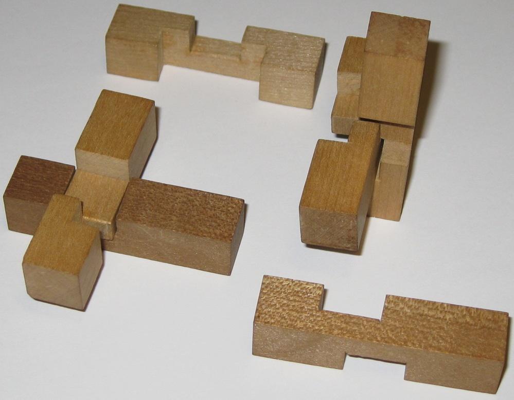 Mikado Block Puzzle Copyright J A Storer