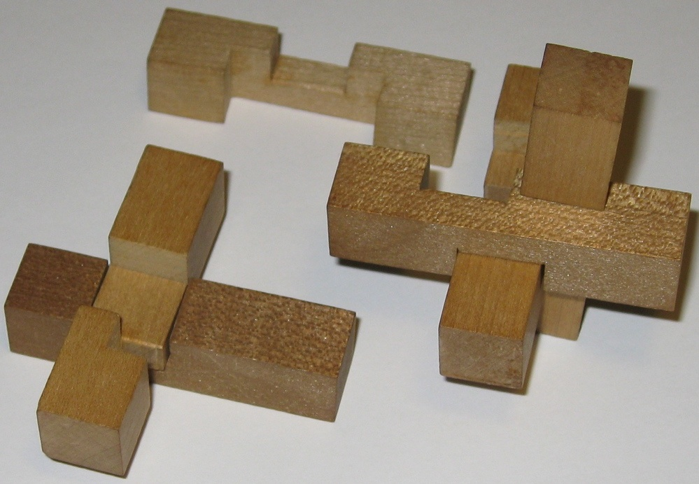 Wooden Puzzle Solutions 6 Pieces Wooden Block Puzzle Solution