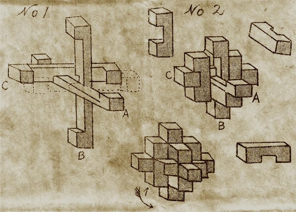 14 Piece Wooden Puzzle Solution 9 Piece Wooden Puzzle