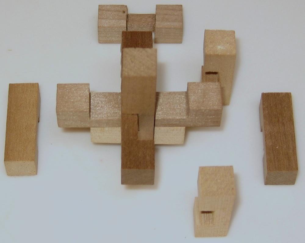 Miyako Wooden Puzzle