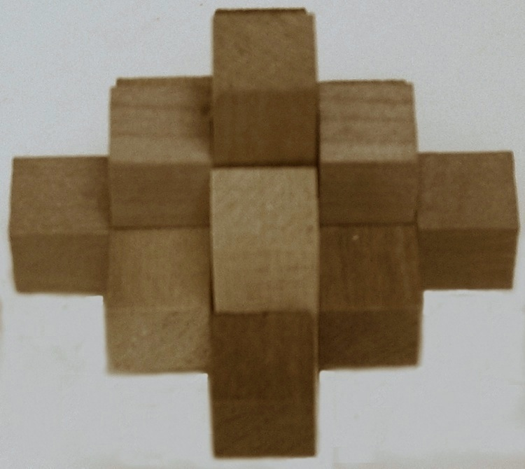Quot Miyako Wooden Puzzle Quot Copyright J A Storer