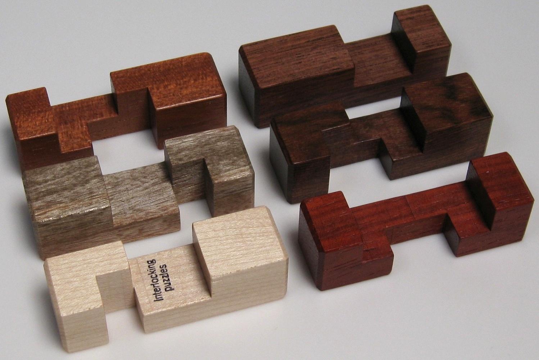 Simple 6 Piece 6 Solutions Burr Set Copyright J A Storer