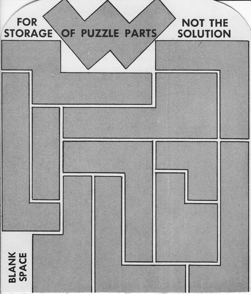 Draught Board Puzzle (a.k.a. Krazee Checkerboard Puzzle, Zebas ...