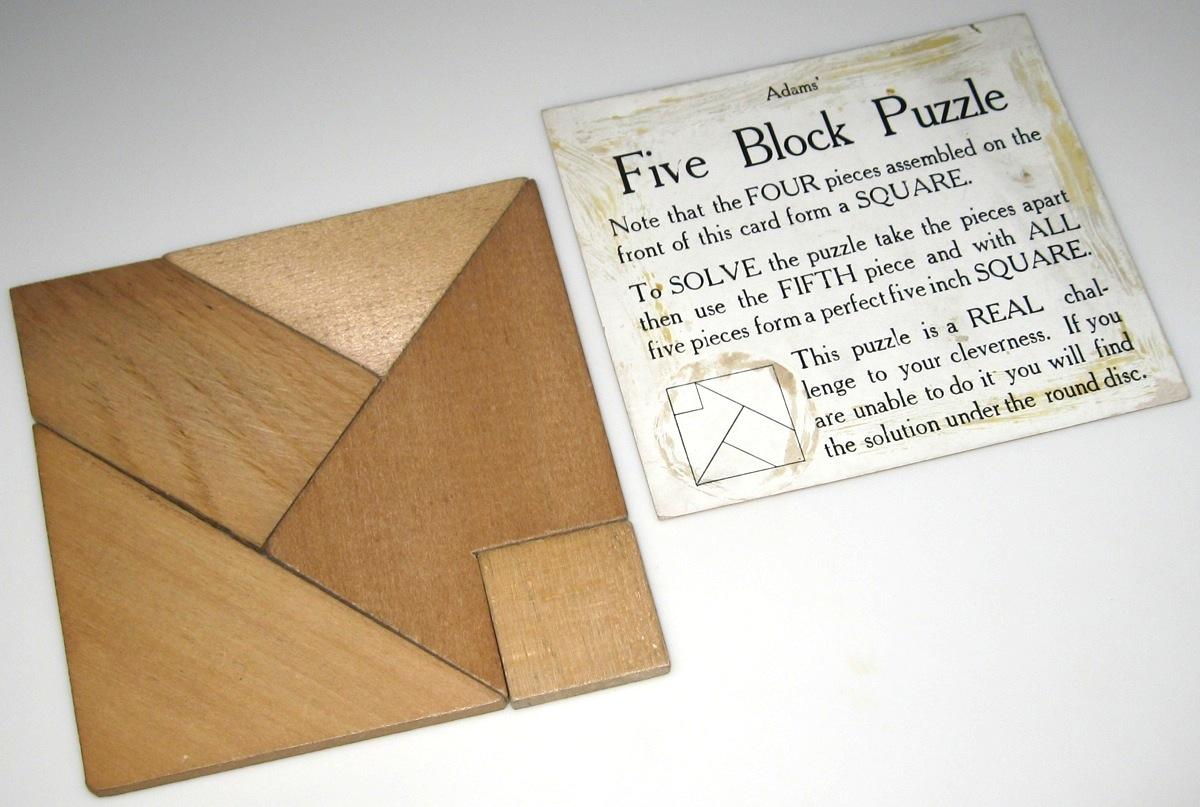 Double Square (a k a Square Me, Five Block Puzzle
