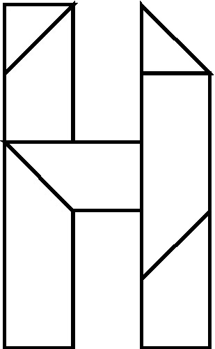 H Puzzle Copyright J A Storer