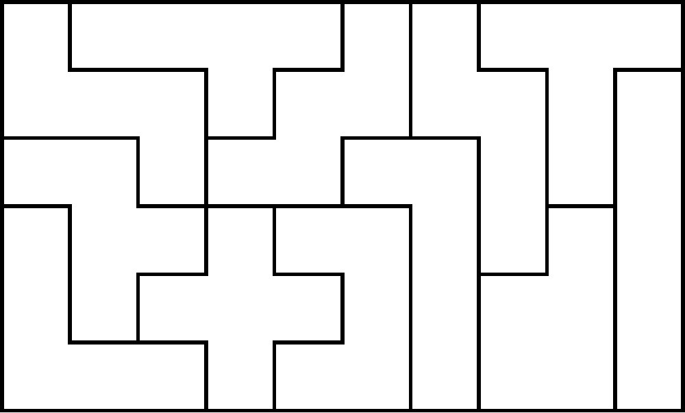 It is a graphic of Pentominoes Printable for tangram