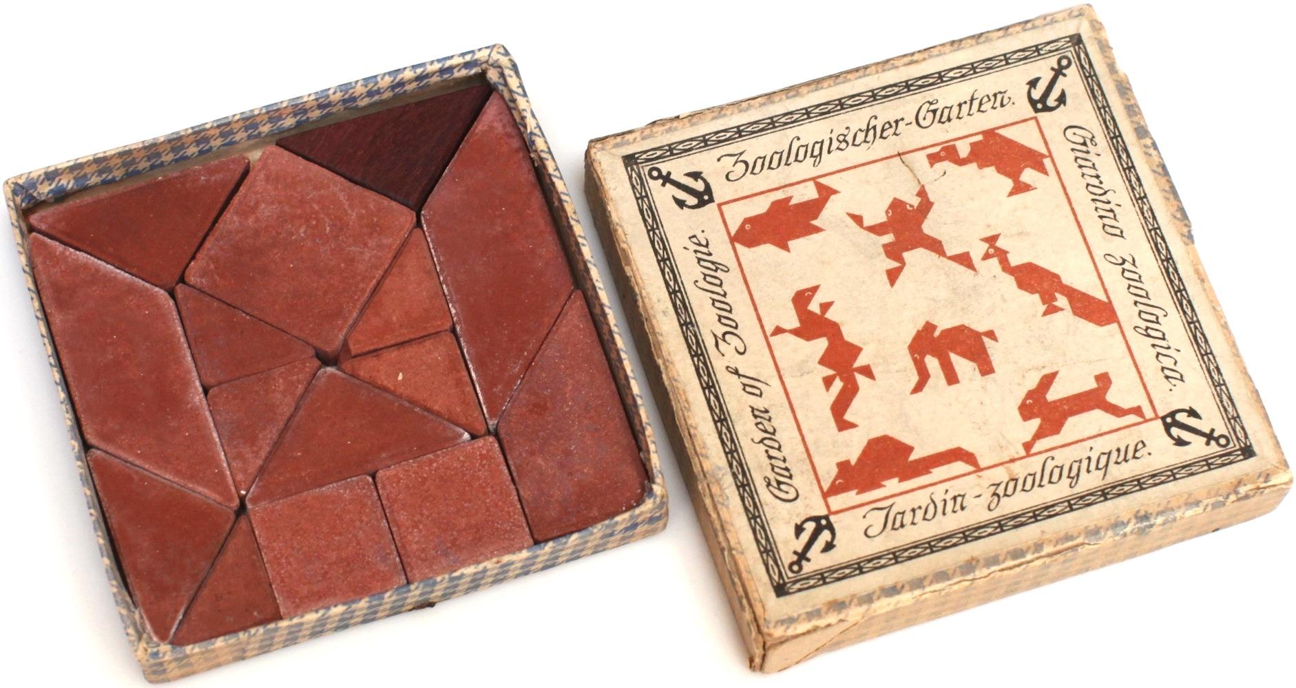 Richter Garten richter trench and zoo puzzles (a.k.a. schutzengraben, zoologischer