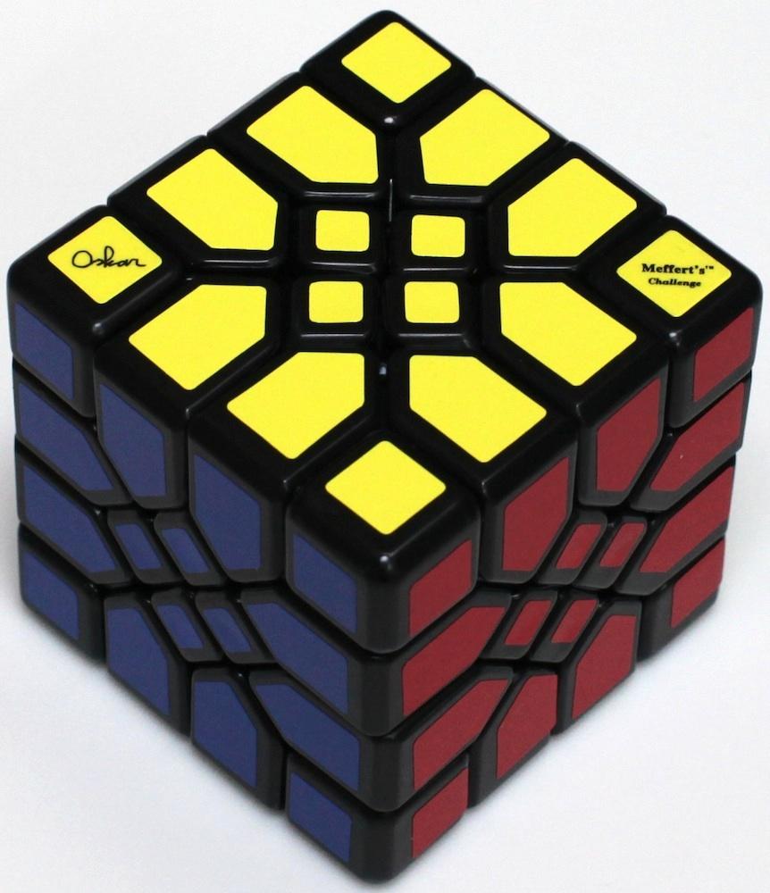"Mosaic Cube"" - Copyright J. A. Storer"