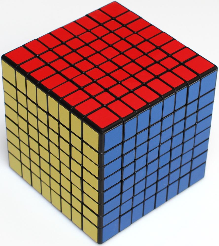 large rubik cubes copyright j a storer