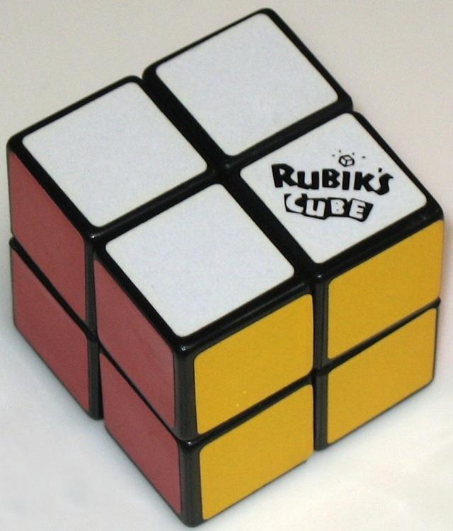 "Rubik's 2x2x2 Pocket Cube"" - Copyright J. A. Storer"