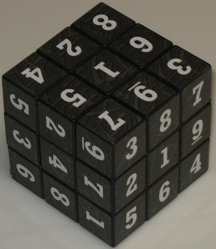 """Rubik's 3x3x3 Cube"" - Copyright J. A. Storer"