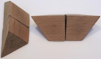 Four Piece Pyramid Version 1 Copyright J A Storer