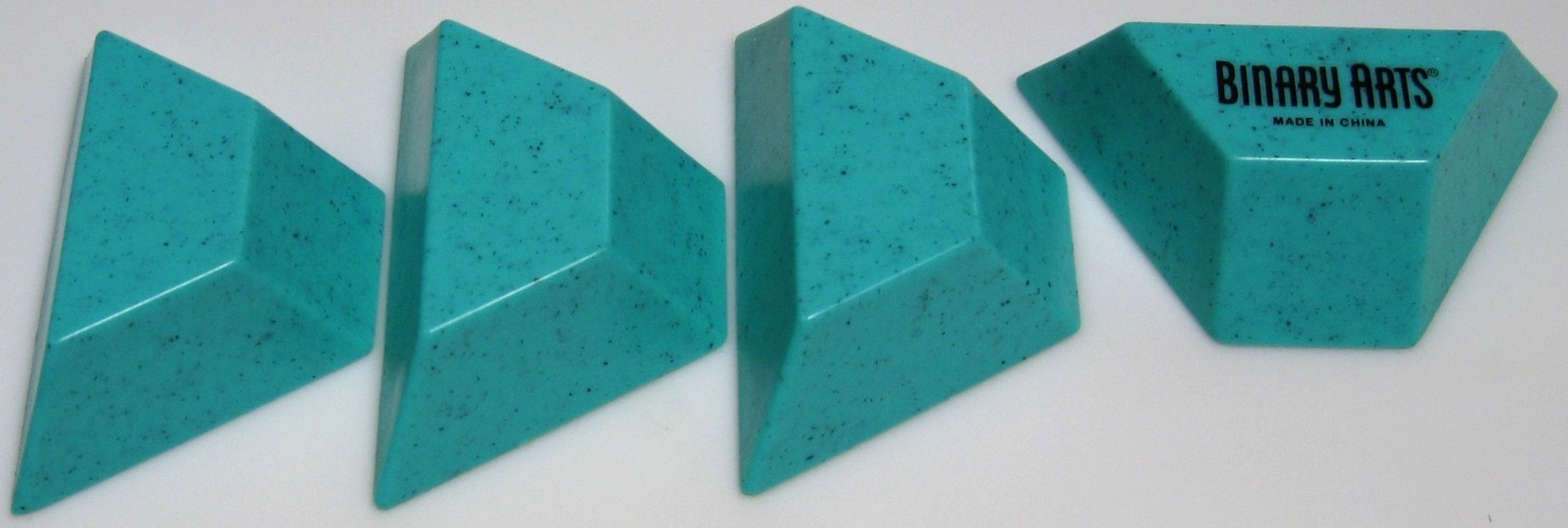 """Side By Side >> """"Four Piece Pyramid, Version 2"""" - Copyright J. A. Storer"""